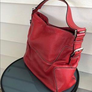 Michael Kors Bags - Michael Kors Red leather purse should bag white